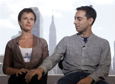 27 July, 2011: Sarah Shourd, a hiker freed by Iran, and Alex Fattal, brother of hiker Josh Fattal, who, along with Shane Bauer, have been detained since July 2009 in Iran, are interviewed in New York.