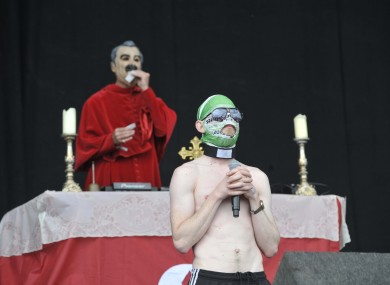 The Rubberbandits at Oxegen