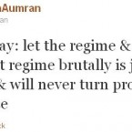 Well-known activist Malath Aumran has been tweeting the revolution since it began in March.   The population of Syria is currently 22 million and is made up of  various ethnic and religious groups, including Kurds, Armenians, Assyrians, Christians, Druze, Alawite Shias and Arab Sunnis. About 75 per cent are Sunni Muslims but the minority Alawites, the sect of Assad, play a more powerful role.