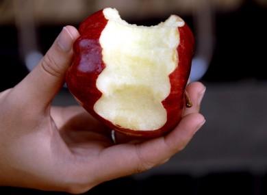 Apple: bitten.