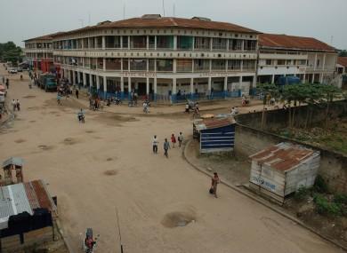 Kisangani, where the crash took place