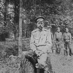 In 1917, during the February Revolution against his rule, Nicholas II and his family were imprisoned. In response, he abdicated but it was not enough to save him.   On July 17, 1918, the Bolsheviks murdered not only Nicholas II but also his wife, his son, his four daughters, the family doctor, the tsar's valet, the Empress' lady-in-waiting and the household cook.  Image - the last Tsar after his abdication in 1917