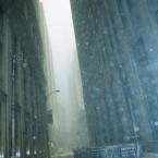 Falling debris, 1.30pm, September 11, 2001