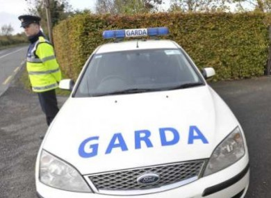Shots were fired after gardaí from the organised crime unit stopped a car in Co Wicklow yesterday