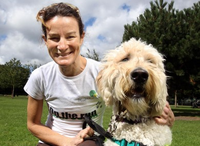 Sonia O'Sullivan and puppy-in-training Halle want you to run for the Irish Guide Dogs in the Cork Women's Mini Marathon next month. More details at the link below.