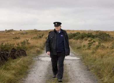 Brendan Gleeson as Sgt Boyle in The Guard.