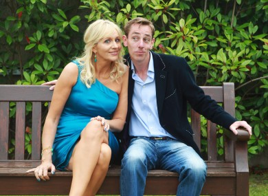 Miriam O'Callaghan and Ryan Tubridy at the RTÉ's autumn schedule launch in August.