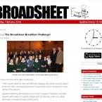 Broadsheet.ie, shown as per 22 February 2011.
