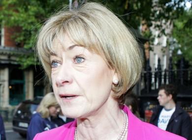 Mary Davis at the Inclusion Ireland debate earlier today