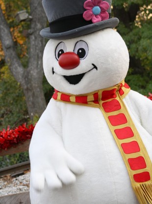 frosty the snowman arrested at christmas parade the daily edge