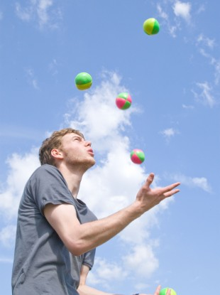 A portfolio career can be a real juggling act.