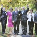 The presidential candidates pictured on September 28 (Sasko Lazarov /Photocall Ireland)