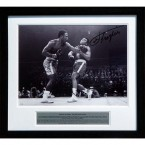 Smokin' Joe Frazier passed away just last month and what better way to commemorate the man who handed Muhammed Ali his first defeat than by hanging a limited edition signed photo of The Fight of the Century on your wall.  Price: €230 from www.cricketcollectables.net