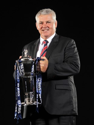 Wales coach Warren Gatland during the RBS 6 Nations Media Launch at the Hurlingham Club, London this morning.