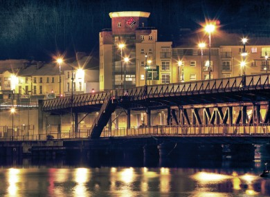 File photo of the Waterside area of Derry city.