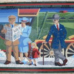 One of the new mosaics panels at Bray Dart station (Via mural-to-mosaic.blogspot.com)