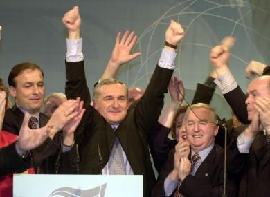 File photo from the 2000 Fianna Fáil Ard Fheis
