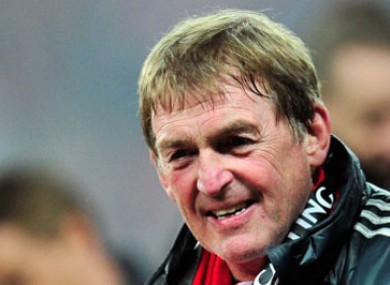 Kenny Dalglish: enjoyed cup success last weekend.
