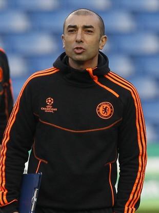 Chelsea caretaker manager Roberto Di Matteo.