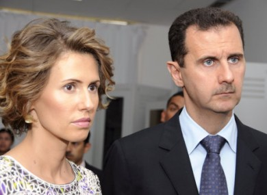 EU slaps sanctions on Assad's wife and mother · TheJournal.ie