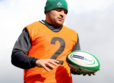 2: Ireland hooker Rory Best became Ireland's number 1 today when he captained the Irish rugby team for the third time.