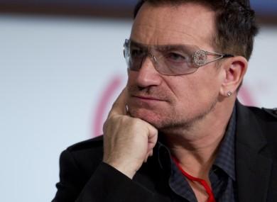 Bono wonders if he has enough for a sandwich.