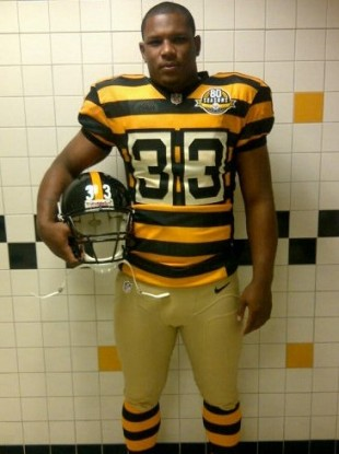 best service 3e8db f8d95 Back to the future as Pittsburgh Steelers unveil throwback ...