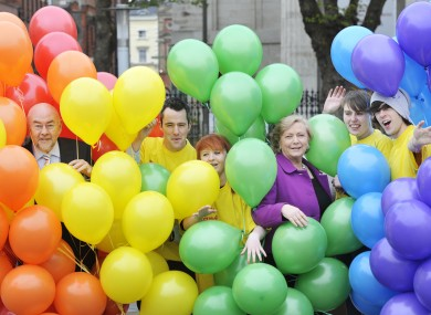 Ruairi Quinn, Minister for Balloons, during the week