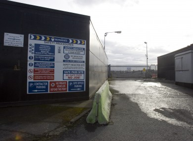 The Glass Bottle site in Ringsend, photographed in March 2010.