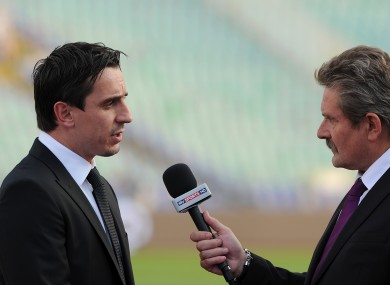 Gary Neville has been praised for his analysis this season.