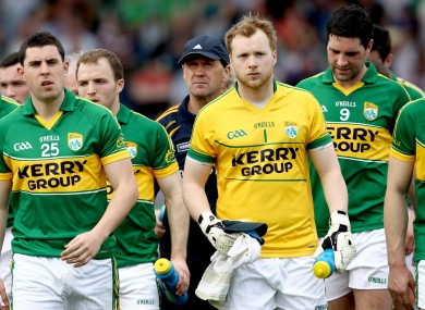Jack O'Connor takes to the pitch with his team.
