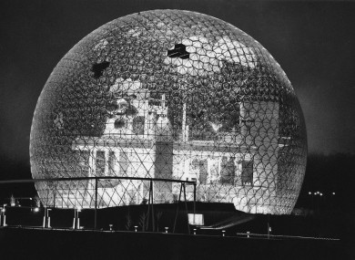 In the 1960s they thought we could live on the moon in lunar domes