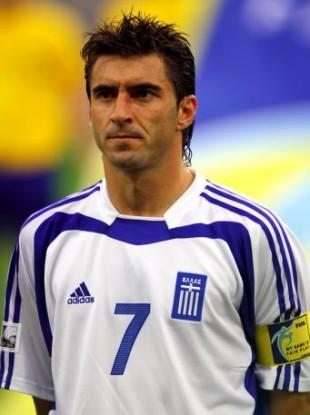 Leicester City legend Theo Zagorakis, star of Euro 2004