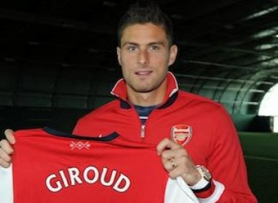 2a8f65e3d  It s been a dream  -- Giroud agrees Arsenal deal · The42