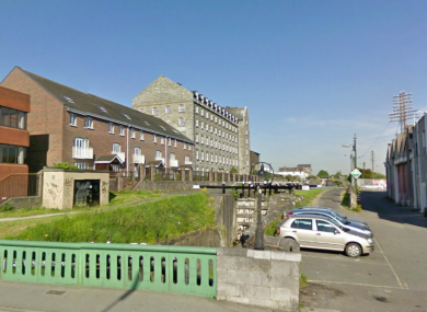 The Cross Guns area of Phibsboro, where the incident occurred today.