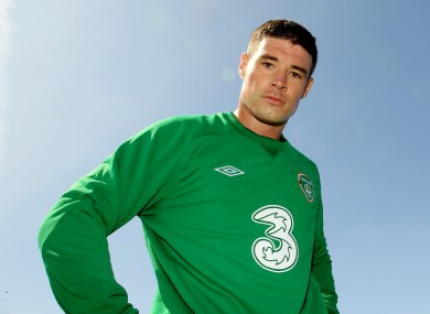 O'Dea during Ireland duty.