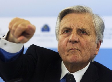 Former ECB president Jean-Claude Trichet wrote to Brian Lenihan in November 2010 - reportedly