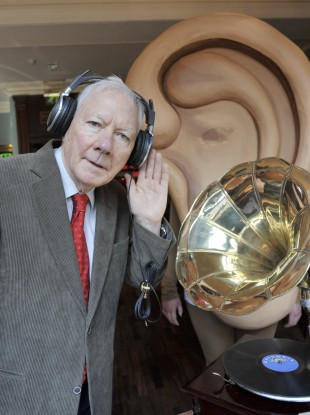 Listen up: Gaybo wants you to get your ears checked (File photo)