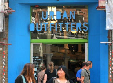 london urban outfitters