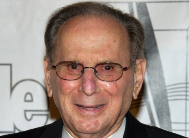 Hal David arrives at the 42nd Annual Songwriters Hall of Fame Awards in New York, June 2011