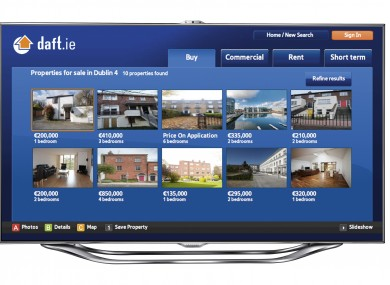 Samsung and Daft ie launch Smart TV property app · TheJournal ie