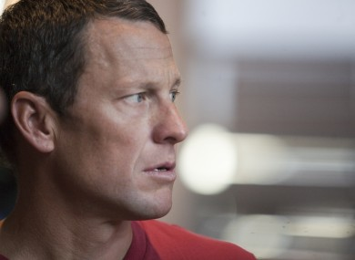 Lance Armstrong: awaiting report.
