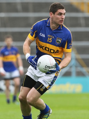Tipperary county player Philip Austin grabbed the goal for Thomas McDonagh's yesterday.