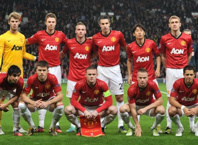 Man United face Chelsea later today.