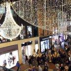 The Grafton Street Christmas lights mark the start of the festive season. Photo Mark Stedman/Photocall Ireland