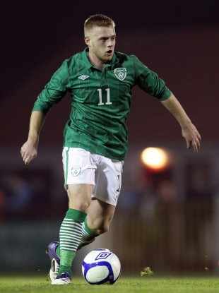 Clifford in action for the U21s.