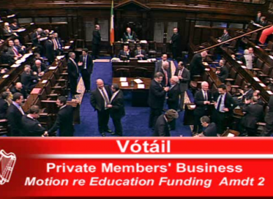 Quirks in Dáil procedure mean TDs will never get to vote on Sinn Féin's abortion motion tomorrow - but rather on the government's amended version.