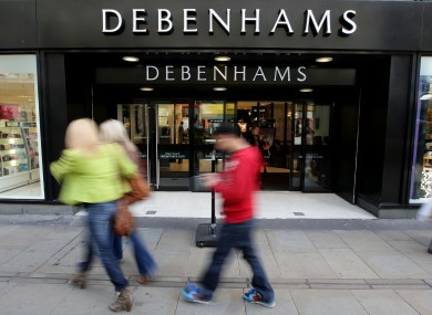 4e44b99db Debenhams issues recall of childrens  clothes with faulty zips