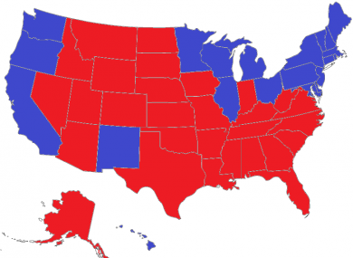 New York Times polling guru Nate Silver says this is a particularly likely 269-269 scenario.
