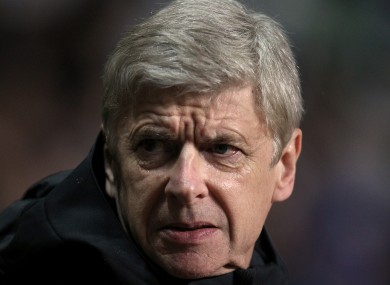 Arsene Wenger has received criticism from fans in recent weeks.